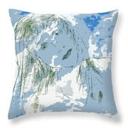 Cloudy With Whimsy Throw Pillow
