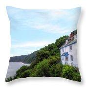 Clovelly - England Throw Pillow