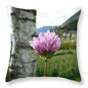 Clover 2 Throw Pillow