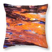 Clownfish Throw Pillow