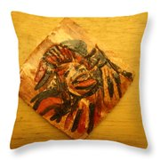 Clowning - Tile Throw Pillow