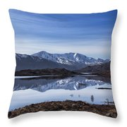 Cluanie Dam Throw Pillow