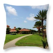 Clubhouse And Gardens At The Dha Golf Club Karachi Pakistan by Imran Ahmed
