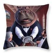 Clumsy Throw Pillow