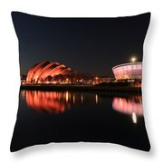 Clyde Twilight Reflections Throw Pillow