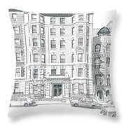 Co-op Building Throw Pillow
