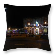 Co-op - The Front Elevation Throw Pillow