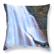 Coal Creek Falls Throw Pillow