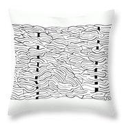 Coalesce Throw Pillow