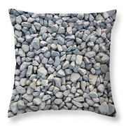 Coarse Gravel Throw Pillow