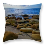 Coarse Sand Throw Pillow
