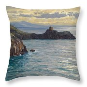 Coast At Amalfi Throw Pillow