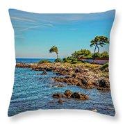 Coast At Antibes France Dsc02221 Throw Pillow