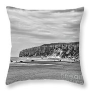Coast - Gone Fishing Throw Pillow