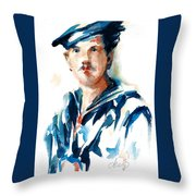 The Uss Red White And Blue Coast Guard 1923 Throw Pillow