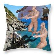 Coast Guards Throw Pillow