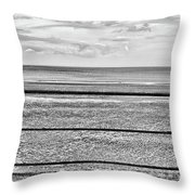 Coast - Horizon Lines Throw Pillow