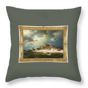 coast of Bohuslan Throw Pillow