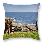 Coast. Seascape 1. Throw Pillow
