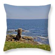 Coast. Seascape 3. Throw Pillow