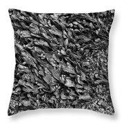 Coast - Seaweed Shapes Throw Pillow