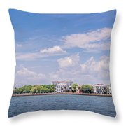 Coastal Area Of Charleston Throw Pillow