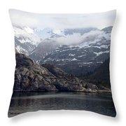 Coastal Beauty Of Alaska 1 Throw Pillow