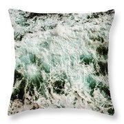 Coastal Calamity Throw Pillow