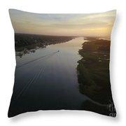 Coastal Carolina Sunrise Throw Pillow