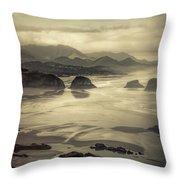 Coastal Dawn Throw Pillow