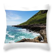 Coastal Drive Throw Pillow