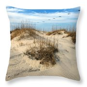 Coastal Formation Throw Pillow