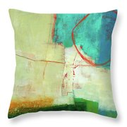 Coastal Fragment #7 Throw Pillow