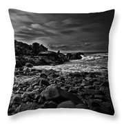 Coastal Home  Kennebunkport Maine Throw Pillow