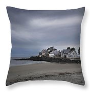 Coastal Homes Kennebunkport  Throw Pillow