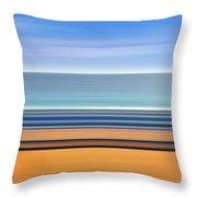 Coastal Horizon 1 Throw Pillow