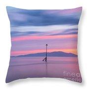 Coastal Kaleidoscope Throw Pillow