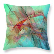 Coastal Kite Throw Pillow