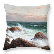 Coastal Landscape. Throw Pillow