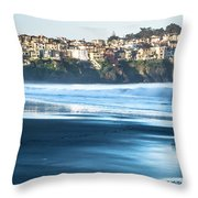 Coastal Scenes At Usa Pacific Coast Throw Pillow