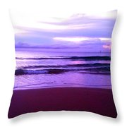 Coastal Sunrise 1 Throw Pillow