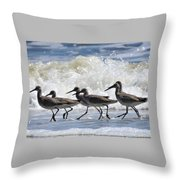 Coastal Togetherness Throw Pillow