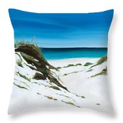 Coastal Treasure Throw Pillow