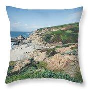 Coastal Views At Bodega Bay Throw Pillow