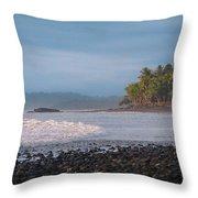 Coastal Zone Throw Pillow