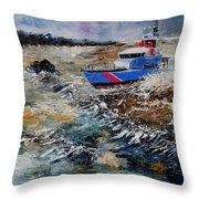 Coastguards Throw Pillow