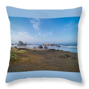 Coastie Throw Pillow