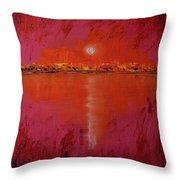 Coastline Throw Pillow