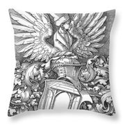 Coat Of Arms Of The House Of Dbcrer 1523 Throw Pillow