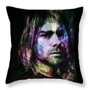 Cobain Throw Pillow